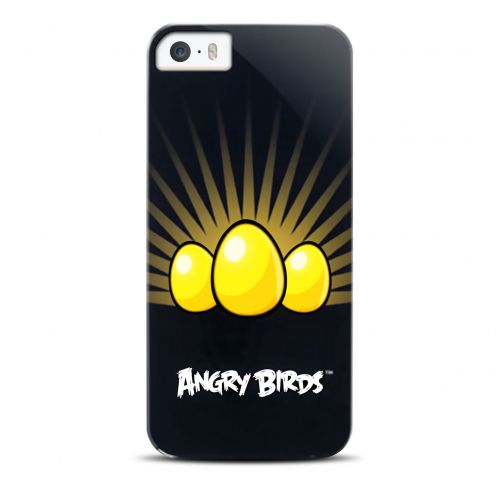 Coque Angry Birds Yellow Eggs Gear4® pour iPhone 5/5S/SE