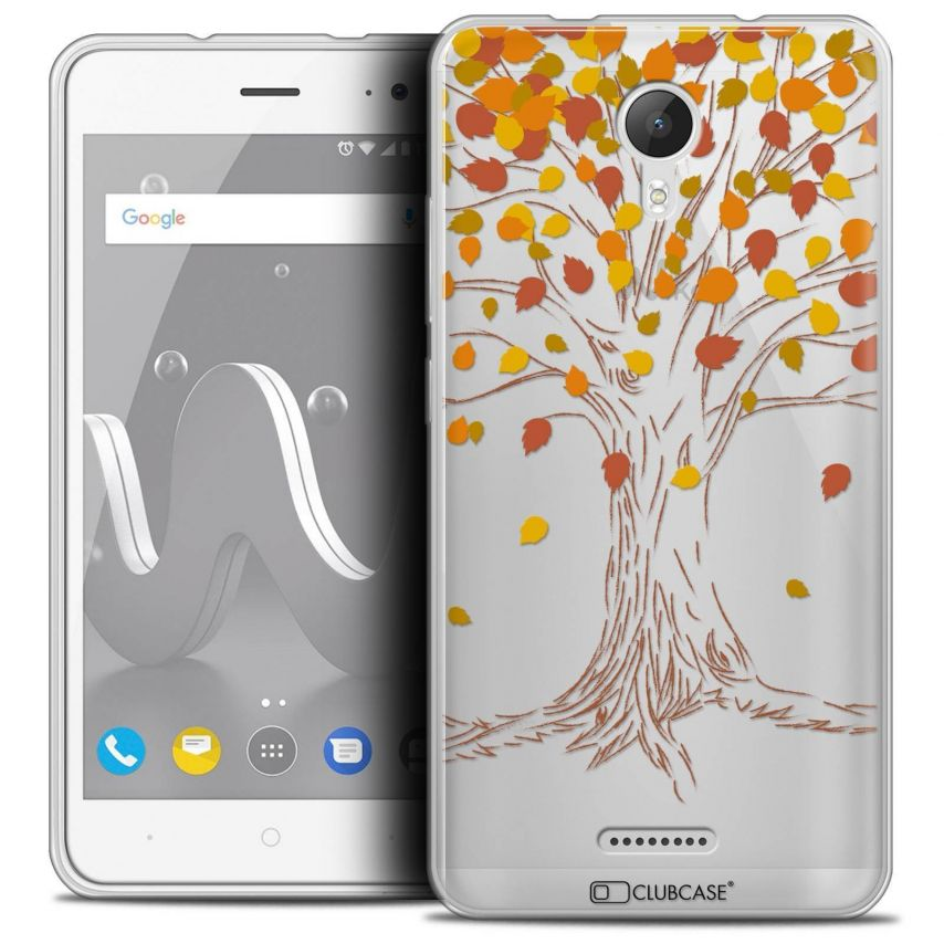"""Coque Crystal Gel Wiko Jerry 2 (5"""") Extra Fine Autumn 16 - Tree"""