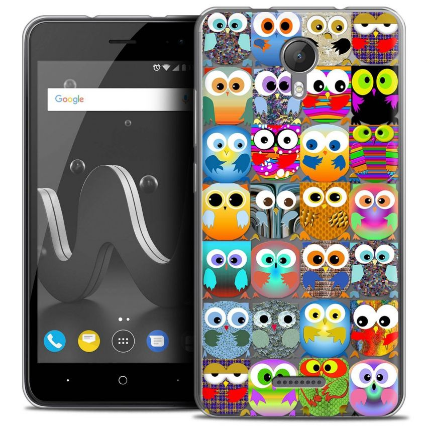 """Coque Crystal Gel Wiko Jerry 2 (5"""") Extra Fine Claude - Hibous"""