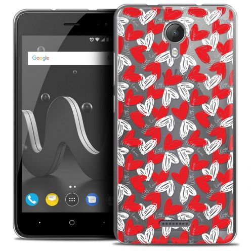 """Coque Crystal Gel Wiko Jerry 2 (5"""") Extra Fine Love - With Love"""