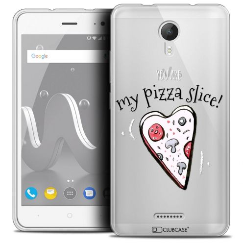 """Coque Crystal Gel Wiko Jerry 2 (5"""") Extra Fine Love - My Pizza Slice"""
