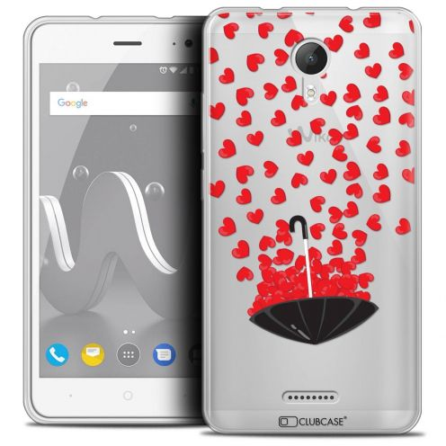 """Coque Crystal Gel Wiko Jerry 2 (5"""") Extra Fine Love - Parapluie d'Amour"""