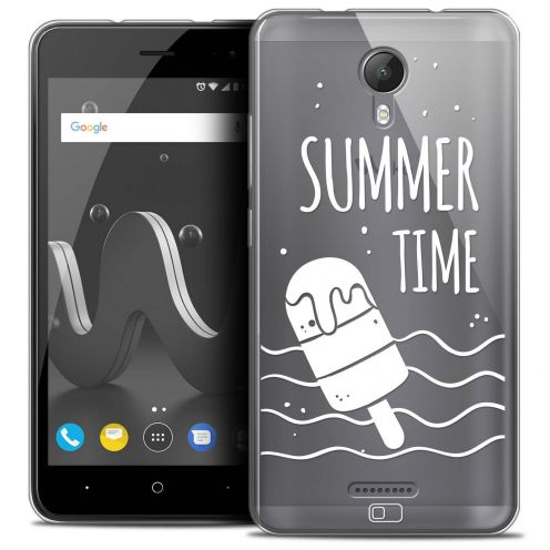 "Extra Slim Crystal Gel Wiko Jerry 2 (5"") Case Summer Summer Time"