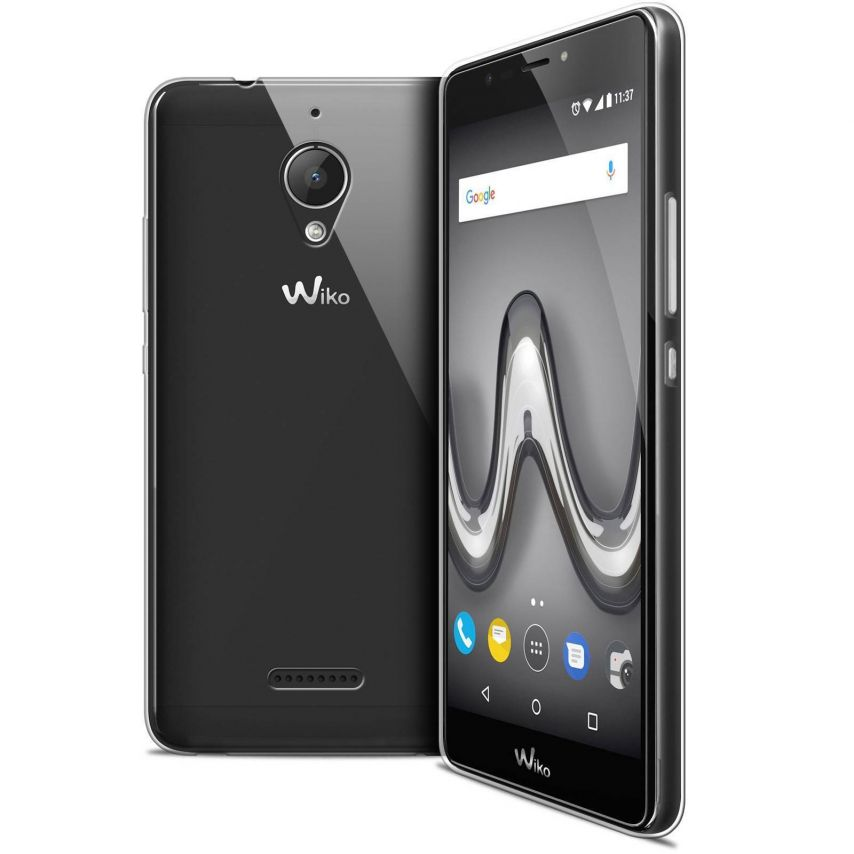 """Coque Wiko Tommy 2 PLUS (5.5"""") Extra Fine Souple Crystal Clear"""
