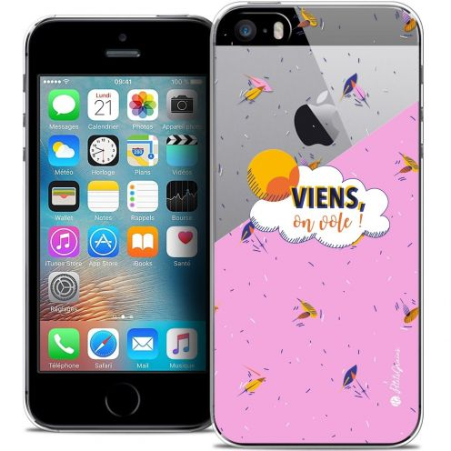 Coque iPhone 5/5s/SE Extra Fine Petits Grains® - VIENS, On Vole !