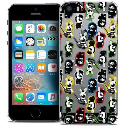 Coque iPhone 5/5s/SE Extra Fine Lapins Crétins™ - Punk Pattern