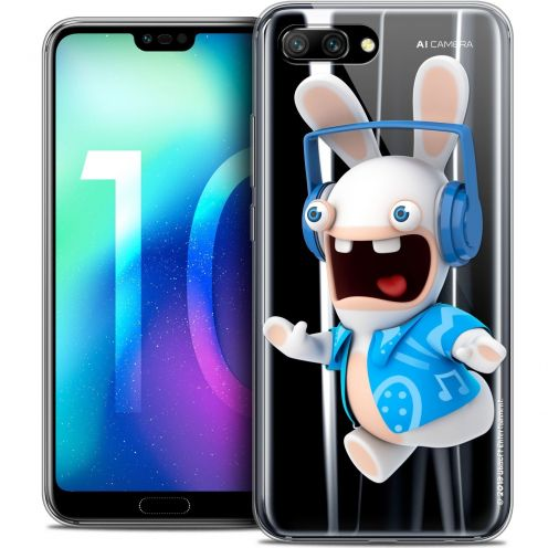 """Coque Gel Huawei Honor 10 (5.8"""") Extra Fine Lapins Crétins™ - Techno Lapin"""