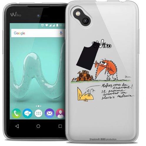 Coque Gel Wiko Sunny Extra Fine Les Shadoks® - Le Travail