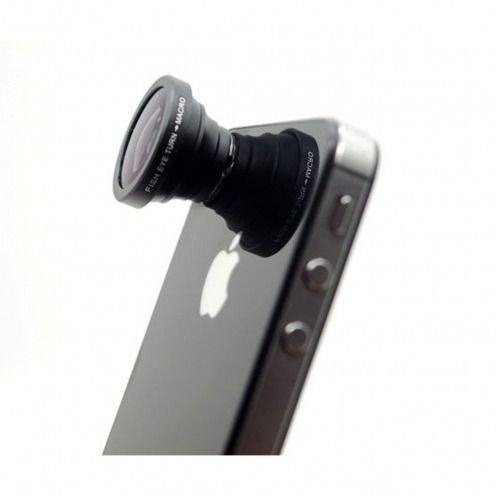 Objectif Fish-Eye 180° Macro Photo / Video iPhone 5 / iPhone 4 / 4S / 3G