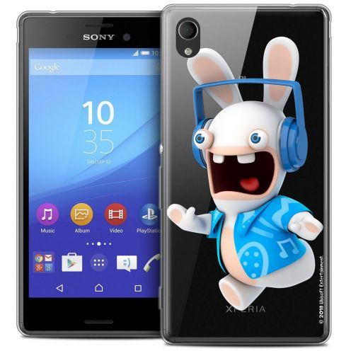 Crystal Sony Xperia M4 Aqua Case Lapins Crétins™ Techno Lapin