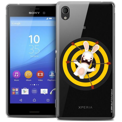 Crystal Sony Xperia M4 Aqua Case Lapins Crétins™ Target