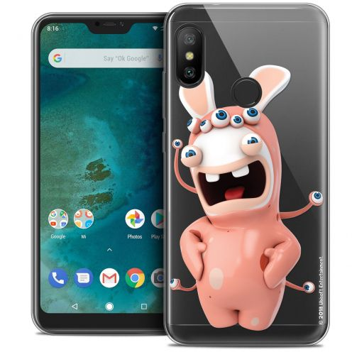 "Crystal Gel Xiaomi Mi A2 LITE (5.8"") Case Lapins Crétins™ Extraterrestre"