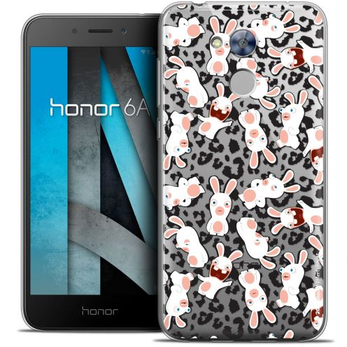 """Coque Gel Huawei Honor 6A (5"""") Extra Fine Lapins Crétins™ - Leopard Pattern"""