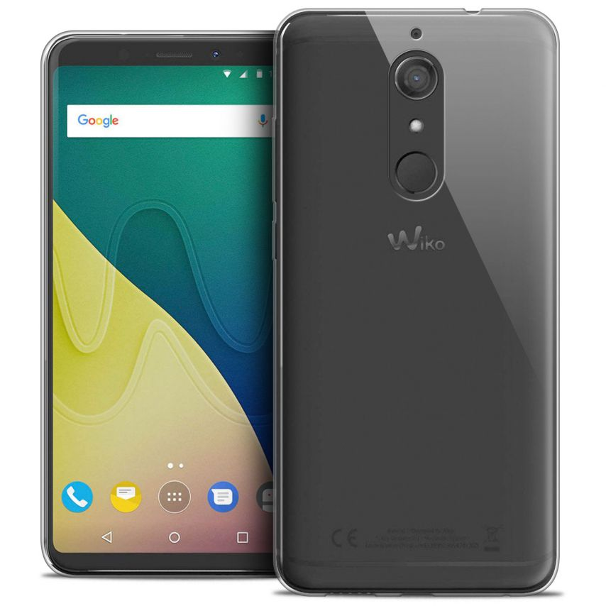 """Coque Wiko View XL (5.99"""") Extra Fine Souple Crystal Clear"""