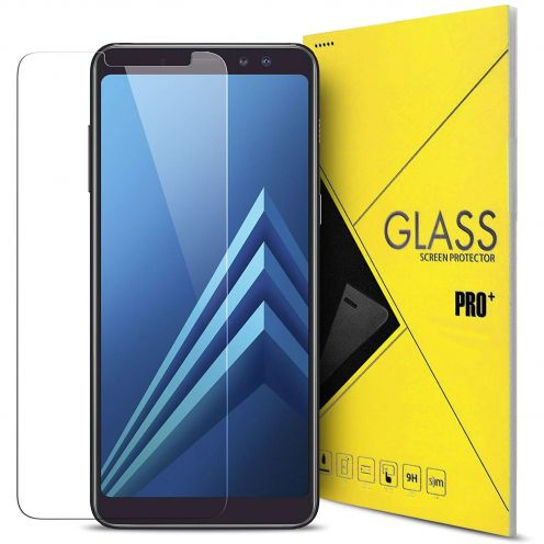 "Protection d'écran Verre trempé Samsung Galaxy A8 PLUS (A730) (6"") 9H Glass Pro+ HD 0.33mm 2.5D"