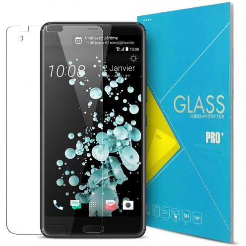 Protection d'écran Verre trempé HTC U Ultra - 9H Glass Pro+ HD 0.33mm 2.5D