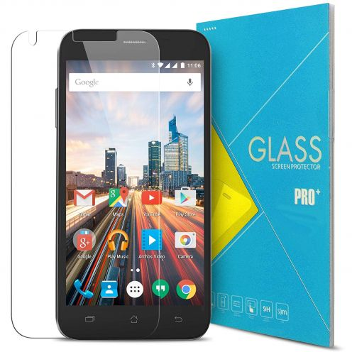 """Glass Pro+ Ultra HD 9H 0.33 mm Tempered Glass Screen Protector for Archos 50 Helium Plus 4G 5"""""""