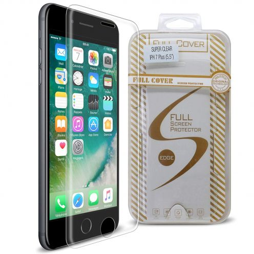 Protection d'écran Verre trempé Apple iPhone 7/8 Plus (5.5) Full Cover Ultra Clear – 9H HD 0.33mm 2.5D