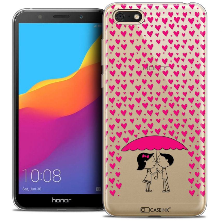 "Extra Slim Crystal Gel Honor 7S (5.45"") Case Love Pluie d'Amour"