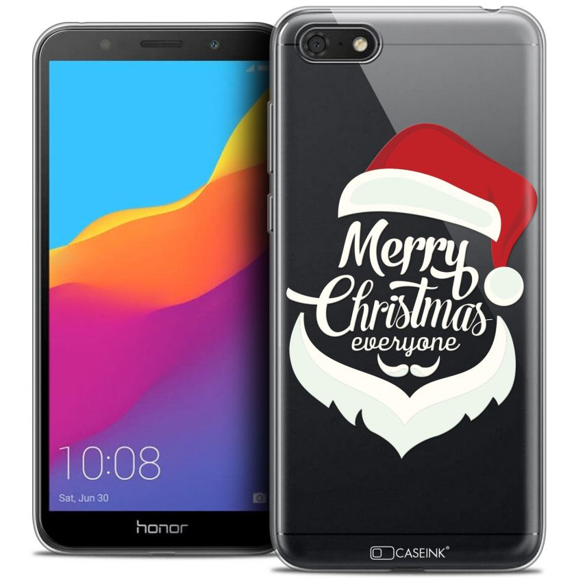 "Coque Crystal Gel Honor 7S (5.45"") Extra Fine Noël 2017 - Merry Everyone"