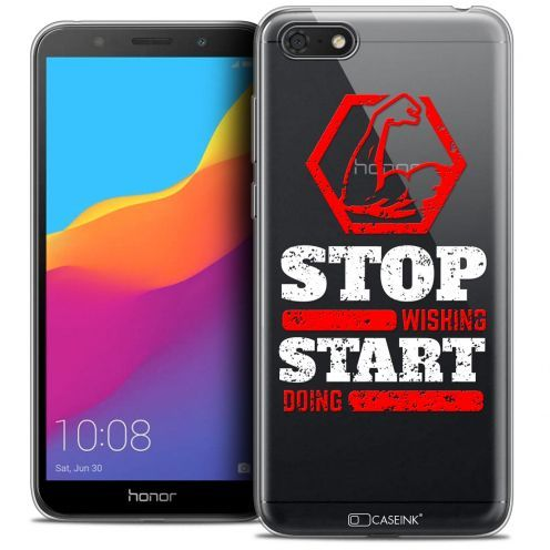 """Coque Crystal Gel Honor 7S (5.45"""") Extra Fine Quote - Start Doing"""