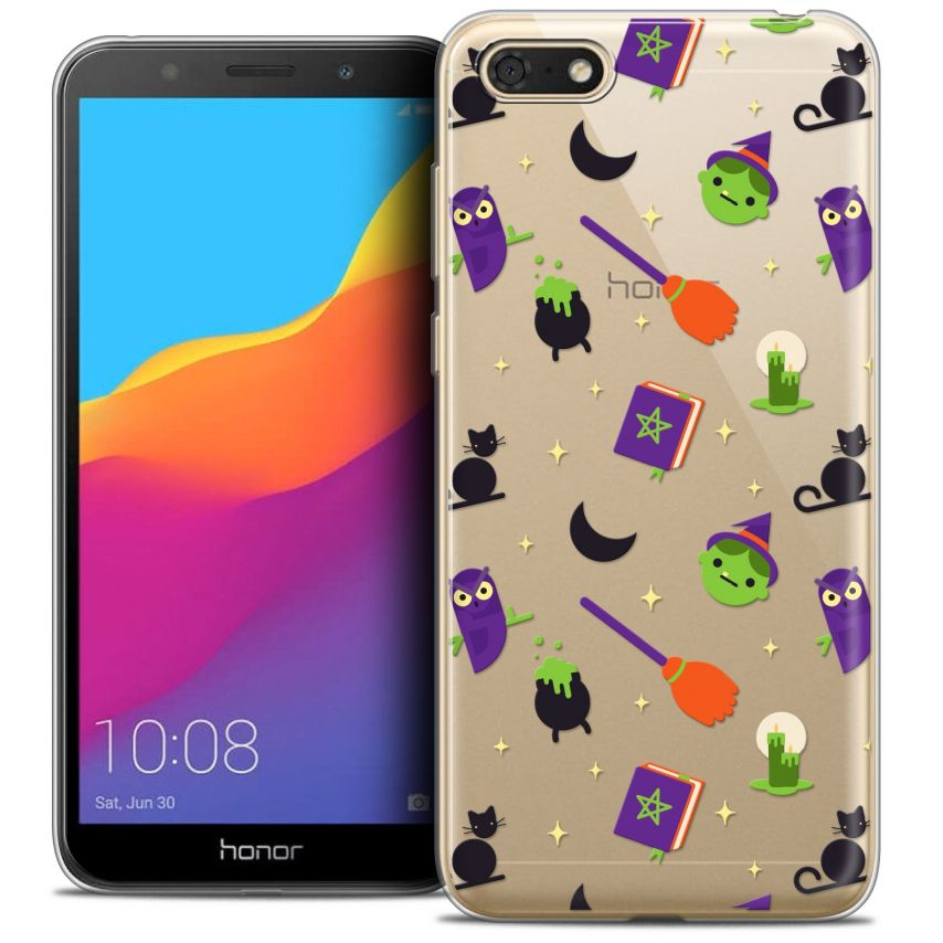 """Coque Crystal Gel Honor 7S (5.45"""") Extra Fine Halloween - Witch Potter"""