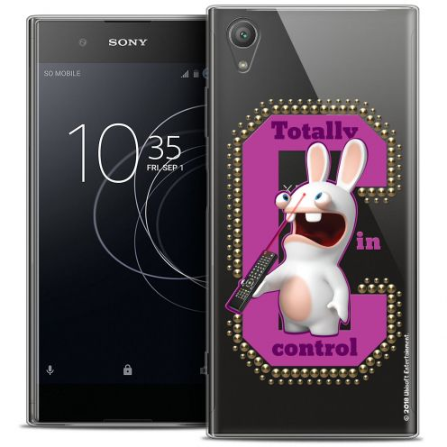 """Coque Gel Sony Xperia XA1 PLUS (5.5"""") Extra Fine Lapins Crétins™ - In Control !"""