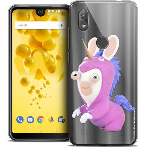 """Coque Gel Wiko View 2 (6.0"""") Extra Fine Lapins Crétins™ - Licorne"""