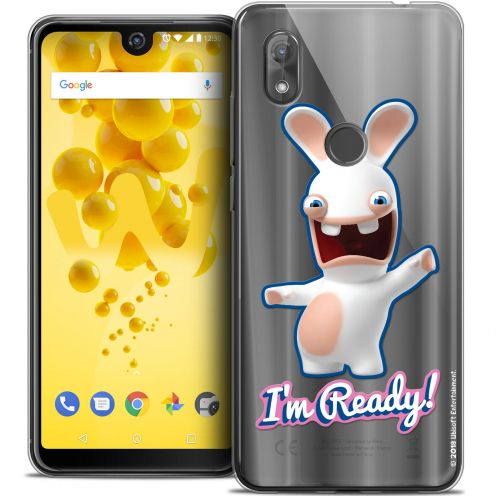 """Coque Gel Wiko View 2 (6.0"""") Extra Fine Lapins Crétins™ - I'm Ready !"""