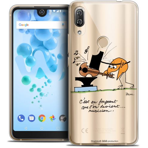 """Coque Gel Wiko View 2 PRO (6.0"""") Extra Fine Les Shadoks® - Musicien"""