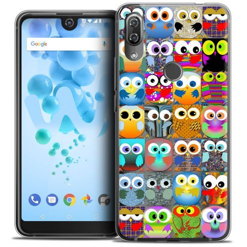 "Coque Crystal Gel Wiko View 2 PRO (6.0"") Extra Fine Claude - Hibous"