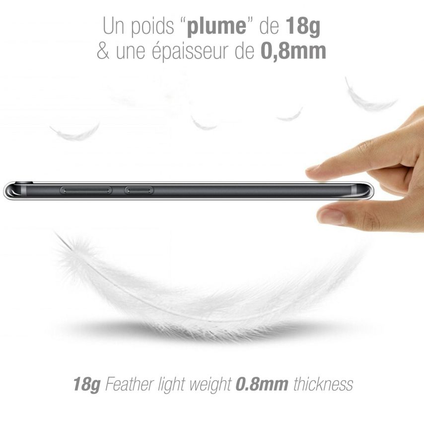 "Carcasa Extra Fina 1 mm Flexible Crystal Clear para Honor 7C (5.99"")"