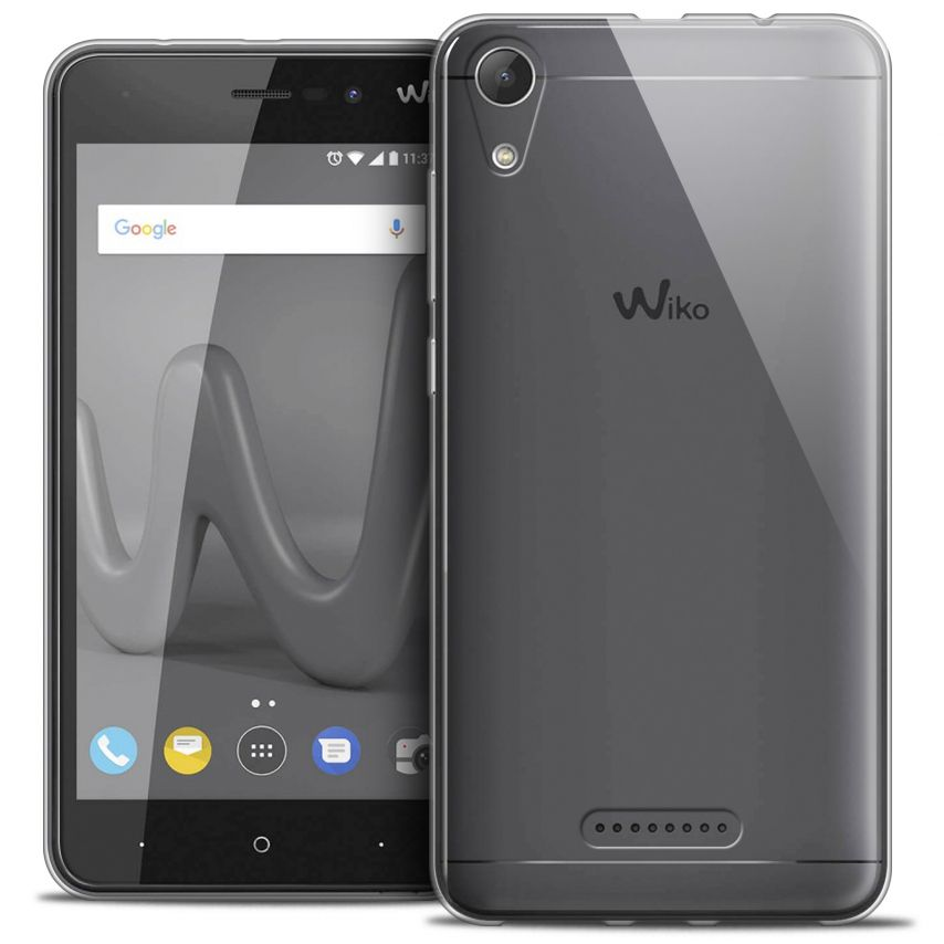 """Extra Slim 1mm Crystal Clear View Flexible Case Wiko Lenny 4 (5"""")"""