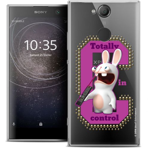 """Coque Gel Sony Xperia XA2 (5.2"""") Extra Fine Lapins Crétins™ - In Control !"""