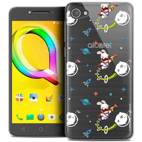 """Crystal Gel Alcatel A5 LED (5.2"""") Case Lapins Crétins™ Space 2"""