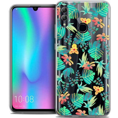 "Coque Crystal Gel Huawei Honor 10 LITE (5.8"") Extra Fine Spring - Tropical"