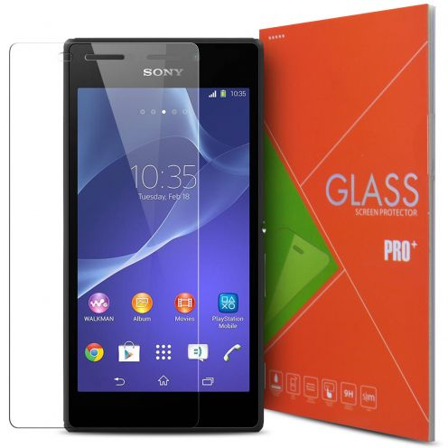 Glass Pro+ Ultra HD 9H 0.33 mm Tempered Glass Screen Protector for Sony Xperia M2 Aqua