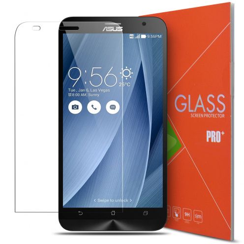 "Protection d'écran Verre trempé Asus Zenfone 2 5.5"" - 9H Glass Pro+ HD 0.33mm 2.5D"