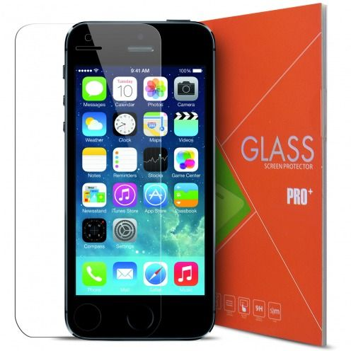Protection d'écran Verre trempé Apple iPhone 5/5S/SE/5C - 9H Glass Pro+ HD 0.33mm 2.5D
