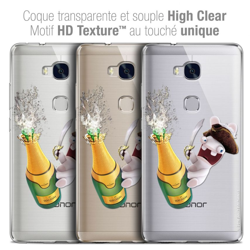 Coque Honor 5X Extra Fine Lapins Crétins™ - Champagne !