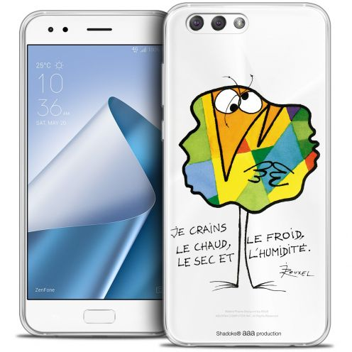 """Extra Slim Crystal Gel Asus Zenfone 4 ZE554KL (5.5"""") Case Les Shadoks® Chaud ou Froid"""