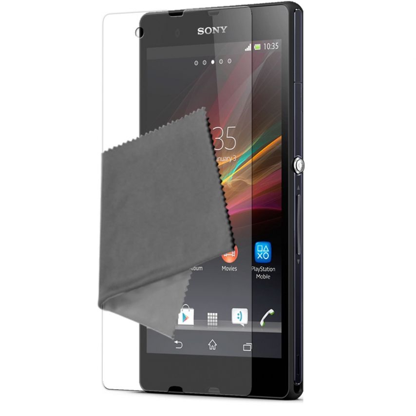 Visuel unique de Films de protection Anti-Reflet Xperia Z Clubcase ® Lot de 2