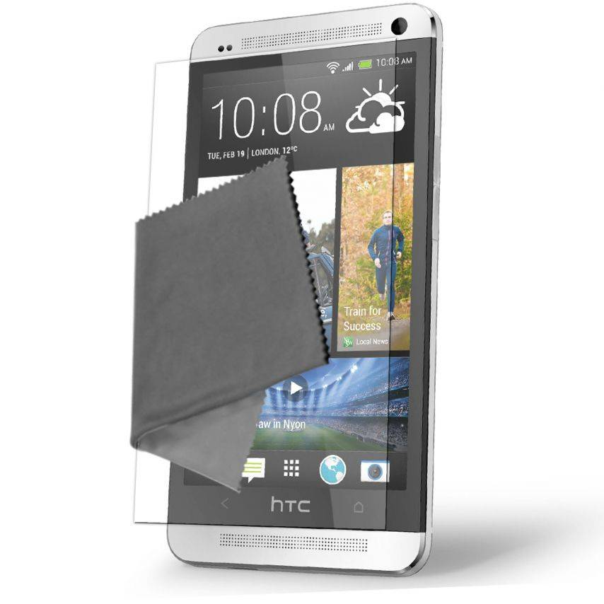 Visuel unique de Films de protection Anti-Reflet HTC One Clubcase ® Lot de 5