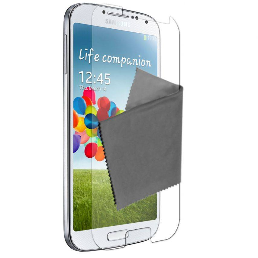 Visuel unique de Films de protection Anti-Reflet Galaxy S4 Clubcase ® Lot de 3