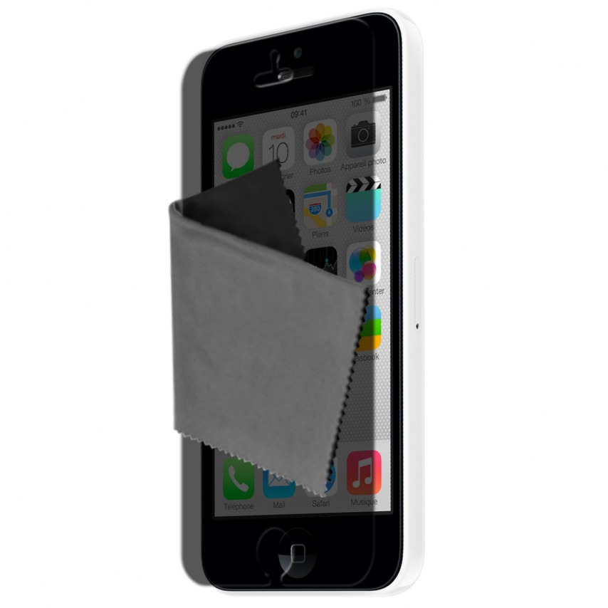 Clubcase ® Privacy Anti-glare screen protector for iPhone 5C set of 3