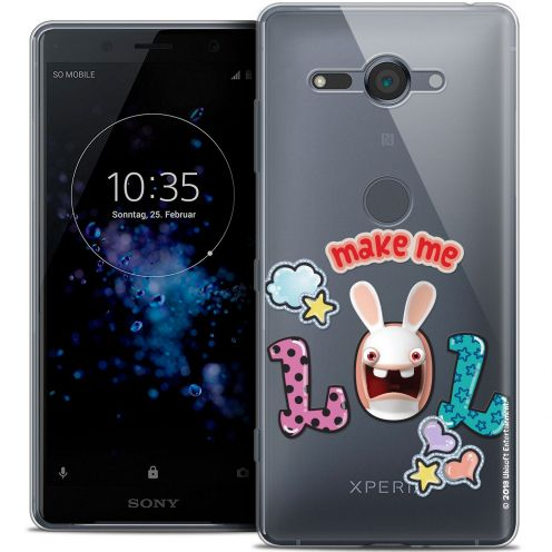 """Coque Gel Sony Xperia XZ2 Compact (5.0"""") Extra Fine Lapins Crétins™ - LOL"""