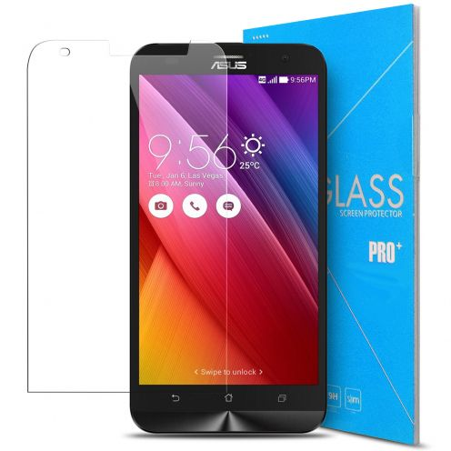 Protection d'écran Verre trempé Asus Zenfone 2 Laser ZE500KL - 9H Glass Pro+ HD 0.33mm 2.5D