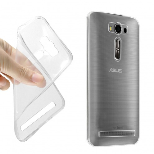 Coque Ultra Fine 0.5mm Souple Crystal Clear View pour Asus Zenfone 2 Laser ZE500KL