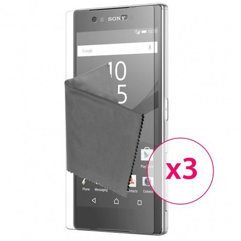 Clubcase ® 3H Ultra Clear HD screen protector for Sony Xperia Z5 3-Pack