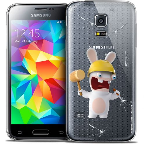 Crystal Galaxy S5 Mini Case Lapins Crétins™ Breaker